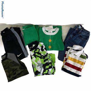 Boys 7Pc Winter Bundle Sz 6 Tops & Jeans